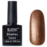Шеллак BLUESKY 10 ml 40544/80544  TINSEL TOAST