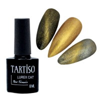 Гель-лак TARTISO LUREX CAT №01