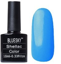 Шеллак BLUESKY 10 ml 40581/80581 CERULEAN SEA