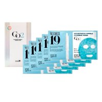 КАРБОКСИТЕРАПИЯ/НАБОР ПАУЧЕЙ CO2 Esthetic Formula Carbonic Mask, 5шт