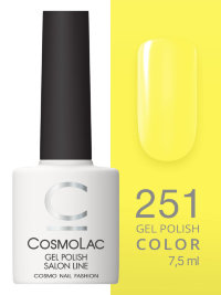 Гель-лак Cosmolac №251 Zinc yellow