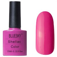 Шеллак BLUESKY 10 ml 40519/80519 HOT P0P PINK