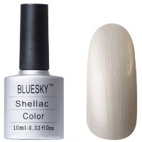 Шеллак BLUESKY 10 ml 40532/80532  SILVER CHROME COLOR